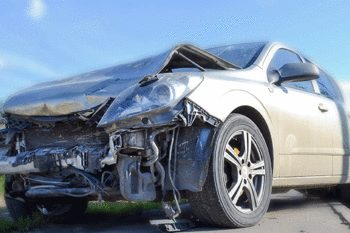 damaged car repair service station in orlando